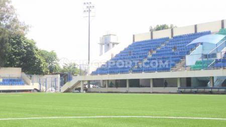 Tribun Timur Stadion Citarum yang akan digunakan sebagai markas PSIS Semarang di Liga 1 2020. - INDOSPORT