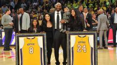 Indosport - Vanessa Laine Bryant dan Kobe Bryant.