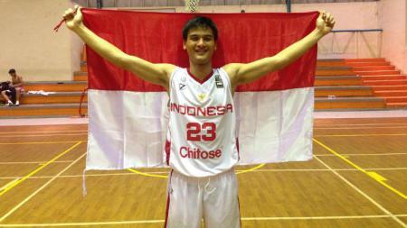Juan Harsab Maulana, pebasket asal Sumatera Utara. - INDOSPORT