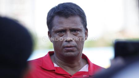 Pelatih Persija Jakarta, Sergio Farias tak sabar menjalani debut sebagai pelatih Macan Kemayoran di ajang Liga 1. - INDOSPORT