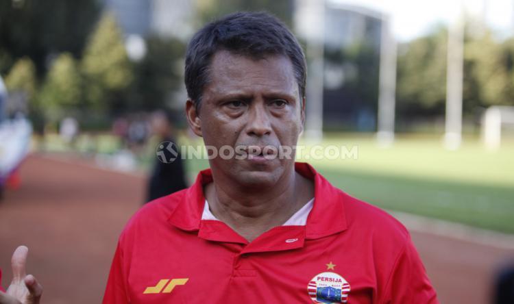 Pelatih Persija Jakarta, Sergio Farias angkat bicara perkembangan Persija. Copyright: Herry Ibrahim/INDOSPORT