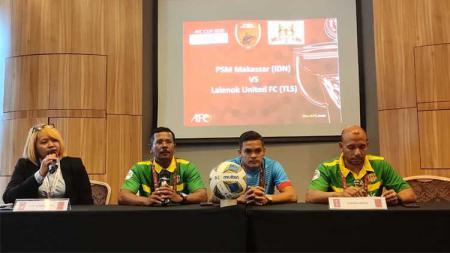 Penggawa Lalenok United, Galih Da Costa Freitas mengaku siap untuk menantang PSM Makassar di leg kedua kualifikasi Piala AFC 2020. - INDOSPORT