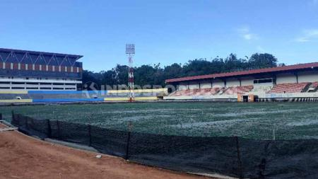 Persipura Jayapura nampaknya belum bisa menggunakan Stadion Mandala sebagai home base untuk laga kandang di kompetisi Liga 1 2020. - INDOSPORT