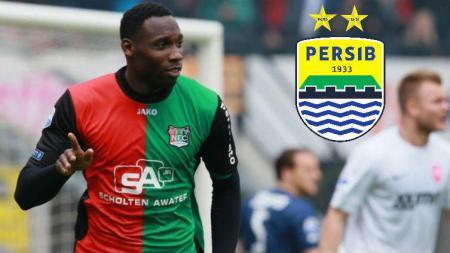 Eks Ajax Amsterdam, Geoffrey Castillion dikabarkan bakal bergabung ke Persib Bandung pada bursa transfer Liga 1 2020. - INDOSPORT