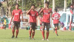 Indosport - Pemain Timnas U-19, Irfan Jauhari (7) saat membela tim muda Bali United