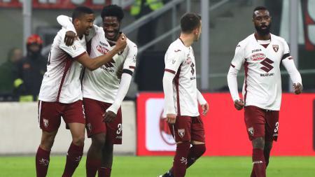 Tiga pemain Torino berpotensi jegal Inter Milan raih kemenangan dan gagal tembus tiga besar klasemen sementara Serie A Liga Italia 2019/20. - INDOSPORT
