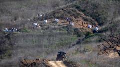 Indosport - Lokasi kejadian kecelakaan helikopter Kobe Bryant