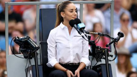 Nama Marijana Veljovic mendadak menjadi sorotan setelah dirinya menjadi wasit yang memimpin laga di Australia Terbuka 2020. - INDOSPORT