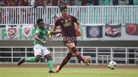 Giancarlo Lopes Rodrigues mengungkapkan isi hatinya setelah berperan besar meloloskan PSM Makassar ke Piala AFC 2020. - INDOSPORT