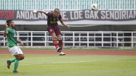 Ferdinand Sinaga saat masih berseragam PSM Makassar di Laga AFC Cup 2020. - INDOSPORT