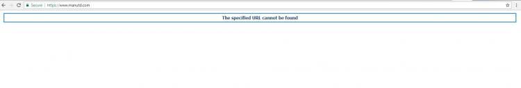 Situs Manchester United tidak bisa diakses Copyright: manutd.com