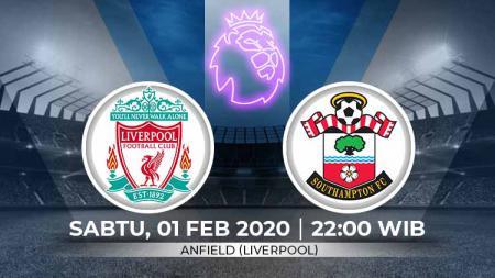 Liverpool akan menjamu Southampton di pekan ke-25 Liga Inggris 2019/20. Pertadingan ini dapat disaksikan secara streaming, Sabtu (01/02/20) pukul 22:00 WIB. - INDOSPORT