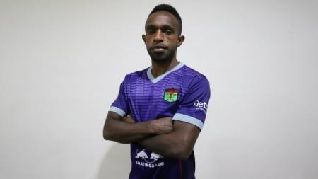 Ricky Kayame, pemain baru Persita Tangerang untuk Liga 1 2020. - INDOSPORT