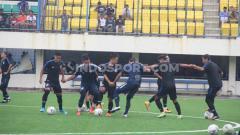 Indosport - PSIS Semarang akhirnya melakukan latihan perdana jelang bergulirnya kompetisi Liga 1 2020 di Stadion Citarum, Kota Semarang, Kamis (30/1/2020) sore.