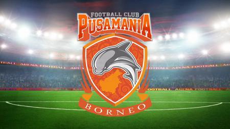 Logo klub Liga 1, Borneo FC. - INDOSPORT