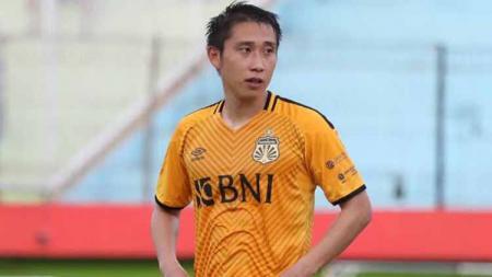 Pemain Bhayangkara FC, Lee Yoo-joon. - INDOSPORT