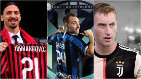 Bursa Transfer resmi Musim Dingin Serie A Italia 2019/2020, AC Milan, Inter Milan, Juventus. - INDOSPORT