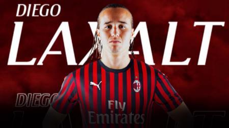 Diego Laxalt resmi kembali gabung AC Milan di bursa transfer musim dingin ini. - INDOSPORT