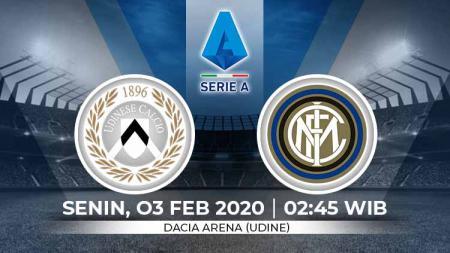 Berikut prediksi pertandingan antara Udinese vs Inter Milan dalam lanjutan Serie A Italia pekan ke-22, Senin (03/02/2020) dini hari WIB. - INDOSPORT
