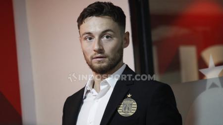 Pemain baru Persija Jakarta untuk Liga 1 2020, Marc Klok. - INDOSPORT