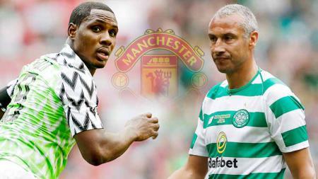 Odion Ighalo secara mengejutkan didatangkan Manchester United sebagai pemain barunya di bursa transfer Liga Inggris. Mampukah menyamai sukses Hendrik Larsson? - INDOSPORT