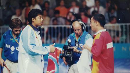 Agus Dwi Santoso, namanya tenar sebagai pelatih bulutangkis asal Indonesia yang mampu membesarkan sejumlah pemain top Asia. - INDOSPORT