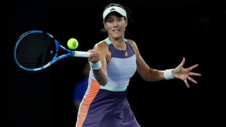 Petenis Spanyol, Garbine Muguruza, belum mampu meraih gelar Grand Slam di Australia.