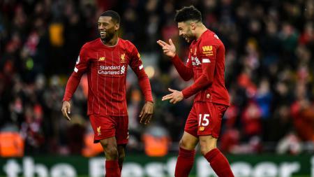 Pemain Liverpool, Alex Oxlade-Chamberlain kemungkinan besar tidak akan memperkuat timnya saat bertanding melawan Arsenal di kompetisi Community Shield. - INDOSPORT