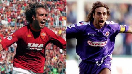 Legenda sepak bola Gabriel Batistuta, namanya akan selalu dikenang sebagai pahlawan AS Roma yang dicintai Fiorentina. Apa kabarya Batistuta kini? - INDOSPORT