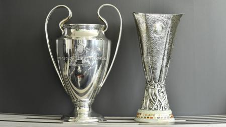 UEFA selaku otoritas sepak bola Eropa mengumumkan bahwa final Liga Champions dan Liga Europa 2019/20 resmi ditunda. - INDOSPORT