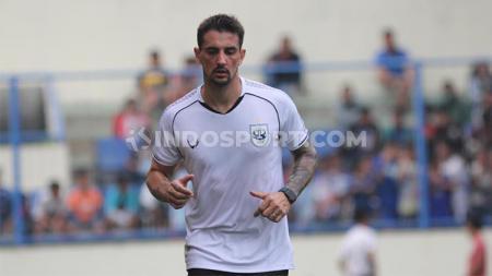 Flavio Beck mengaku tak sabar kembali berlatih bersama PSIS setelah mendengar Liga 1 berpotensi digelar kembali. - INDOSPORT