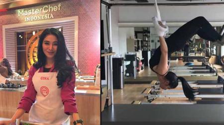 Kontestan MasterChef Indonesia Season 6, Gina Aditya ternyata kerap melakukan olahraga ekstrem seperti panjat tebing, tinju dan sejumlah kegiatan berbahaya. - INDOSPORT