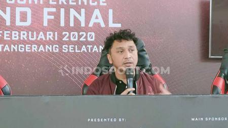 Giring Ganesha angkat bicara soal isu yang menyebut Piala Presiden eSports 2020 menggunakan dana APBN. - INDOSPORT