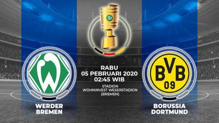Berikut prediksi pertandingan DFB-Pokal antara Werder Bremen vs Borussia Dortmund, Rabu (05/02/20). - INDOSPORT