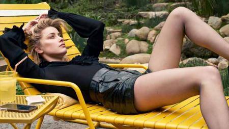 Amber Heard kini tengah menjadi sorotan publik lantaran kasus kekerasan yang dilakukannya pada mantan pasangan, Johnny Depp mulai terkuak. - INDOSPORT