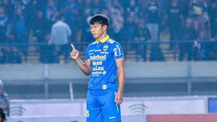 Achmad Jufriyanto ketika masih berseragam Persib Bandung. Copyright: Instagram/@achmad16jufriyanto