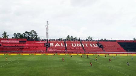 Stefano Cugurra Teco turut menyampaikan harapannya terkait Stadion I Wayan Dipta, markas Bali United yang akan direnovasi untuk keperluan Piala Dunia U-20 2021. - INDOSPORT
