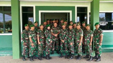 Kodam XII Tanjungpura turut menyukseskan Pontianak City Run 2020. - INDOSPORT
