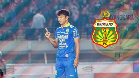 Bek kawakan Achmad Jufriyanto memutuskan pindah dari Persib Bandung ke Bhayangkara FC untuk Liga 1 2020. Ia datang dengan status pinjaman. - INDOSPORT