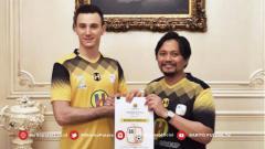 Indosport - Barito Putera resmi memperkenalkan rekrutan baru mereka, Danilo Sekulic.