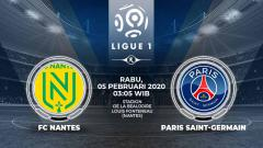 Indosport - Prediksi pertandingan antara FC Nantes vs Paris Saint-Germain (Ligue 1).