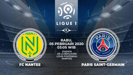 Prediksi pertandingan antara FC Nantes vs Paris Saint-Germain (Ligue 1). - INDOSPORT