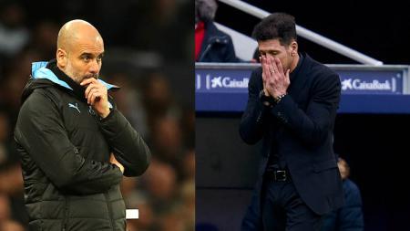 Diego Simeone dan Pep Guardiola, 2 Pelatih Revolusioner yang Sedang Tersesat. - INDOSPORT