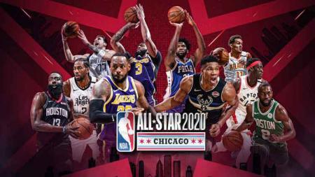 Para peserta NBA All Star 2020 dapat disaksikan di live streaming Indonesia. - INDOSPORT