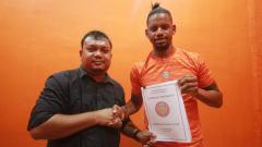 Indosport - Pemain anyar Persiraja Banda Aceh untuk Liga 1 2020, Vanderlei Francisco.