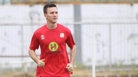 Pemain baru Barito Putera, Danilo Sekulic. - INDOSPORT