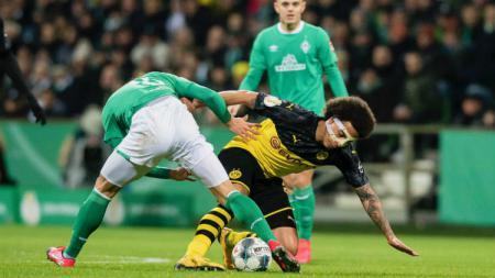 Werder Bremen vs Borussia Dortmund. - INDOSPORT