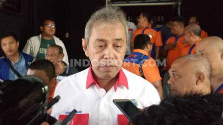 Dewan Penasehat PSMS Medan, Kodrat Shah. - INDOSPORT