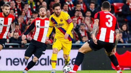 Athletic Bilbao dan Barcelona merupakan lawan bebuyutan di final Copa del Rey, berikut kami pilihkan tiga partai kedua tim yang tidak bisa dilupakan. - INDOSPORT