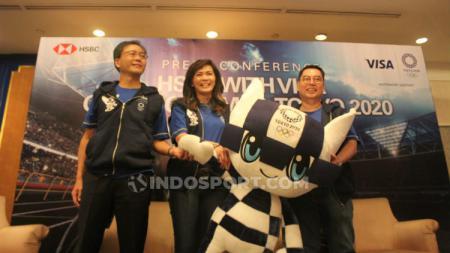 Jelang Olimpiade 2020 di Tokyo, Visa bersama HSBC Indonesia membuka peluang kepada para nasabahnya untuk datang langsung menyaksikan ajang multievent terbesar di dunia tersebut. - INDOSPORT